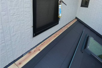 雨漏りが発生しやすい外壁との取り合い部分