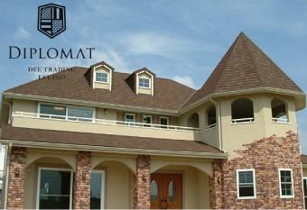 デザインがシンプルで美しい屋根材ディプロマット