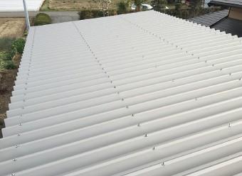 頑健に改修された屋根