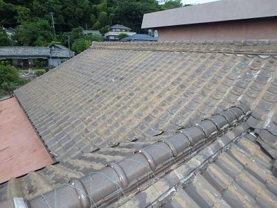 雨漏れしているお宅の屋根