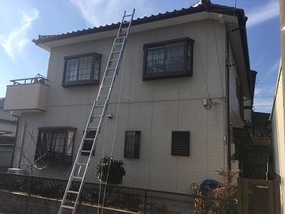 豊田市で点検にお伺いしたお宅の外観