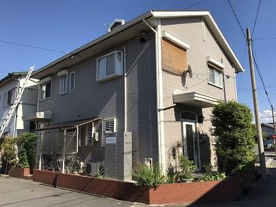 春日井市六軒屋町から屋根点検を依頼されたお宅の外観写真