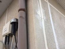 外壁塗装工事のシーリングの様子