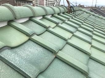 名古屋市北区 屋根 漆喰