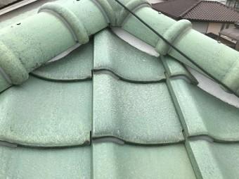 北区 漆喰 屋根