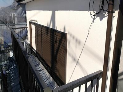 外壁塗装工事の施工後