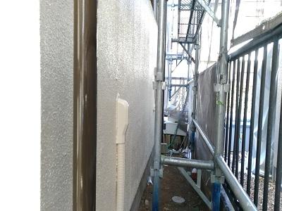 外壁塗装の完工写真