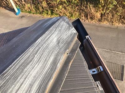 屋根塗装10年経過の屋根の現状