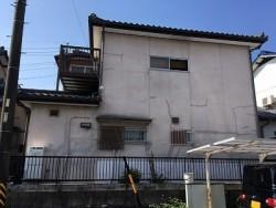 外壁塗装の施工前写真