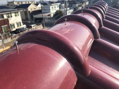 一宮市木曽川町にて屋根葺き替え・外壁塗装工事を行いました。