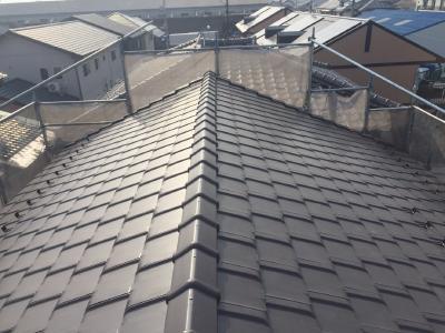 屋根 葺き替え 施工後