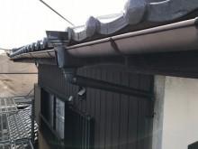 雨樋交換工事施工前の様子