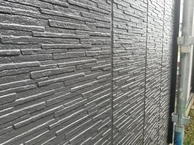 外壁サイディング上塗り