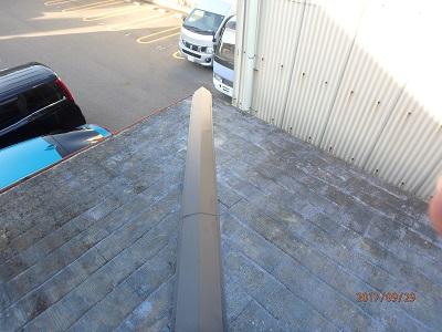 棟板金交換の完工写真2