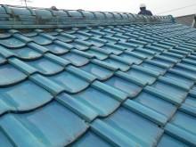 春日井市の雨漏れしているお宅の大屋根の瓦屋根