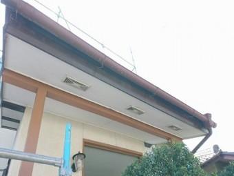 雨樋工事前の様子