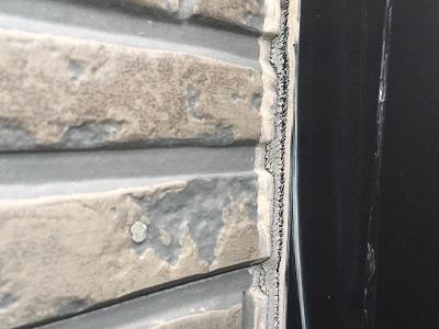 外壁のシーリングの劣化の様子