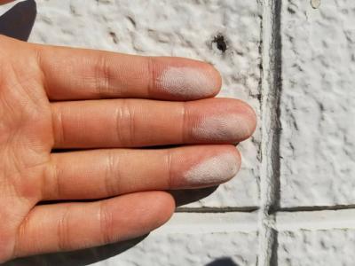 外壁塗膜が劣化