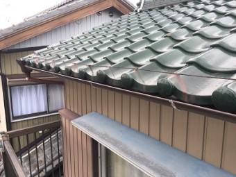 雨樋から雨水が落ちてくるお宅の雨樋交換工事施工後の様子