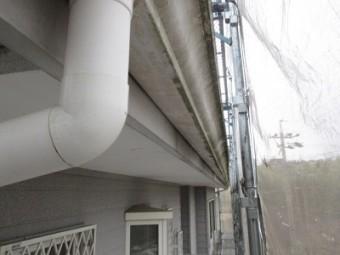 雨樋交換工事の施工前