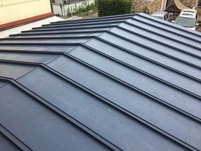 春日井市にて施工させて頂いた錆びて劣化したトタン屋根