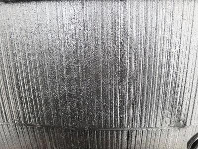 スレート瓦の塗装後