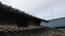 経年劣化で破損した雨樋交換工事完工の様子の様子