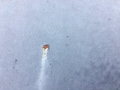 錆びてしまったトタン屋根