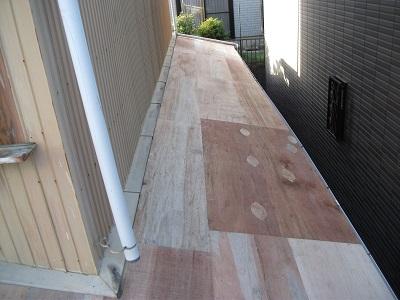 屋根 カバー工法 野地板