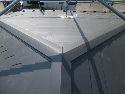 葺き替え後の屋根