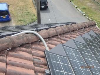 屋根棟組み替え施工前