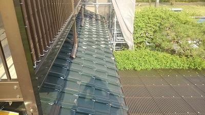 犬山市で雨漏れのあるお宅で和瓦屋根の葺き替え工事をしました。