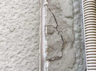 外壁 現状 クラック