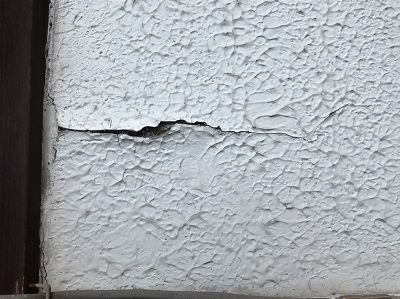 外壁 モルタル 割れ