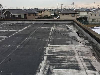 屋上 防水シート ボロボロ