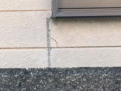外壁 クラック