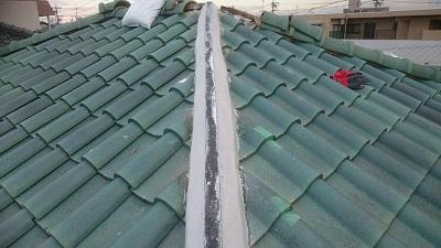 屋根 棟 シルガード
