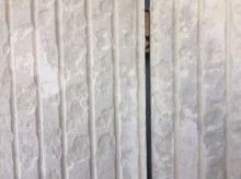 外壁塗装工事シーリング作業の様子
