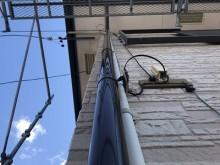 縦樋交換工事の施工後の様子