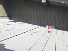 瓦棒 重ね葺き 防水シート