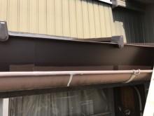 瓦棒屋根 重ね葺き工事 完工