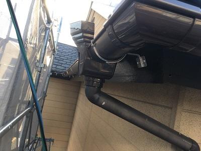 雨樋交換工事施工後の様子