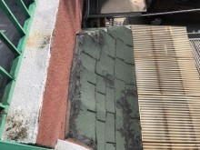 外壁サイディング貼り工事前の様子