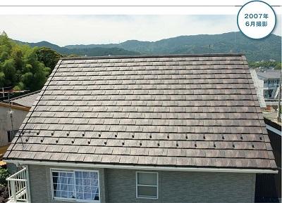 屋根材ルーガの雨風に有利な特徴
