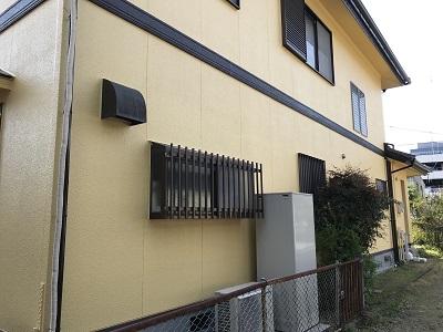 外壁塗装工事 完工