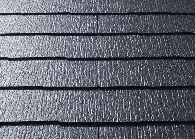 夏の屋根材の様子