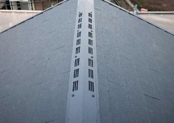 屋根の換気機能の様子