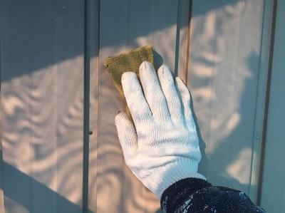 外壁塗装 ケレン トタン