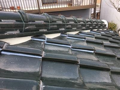 犬山市 屋根工事 漆喰 施工後