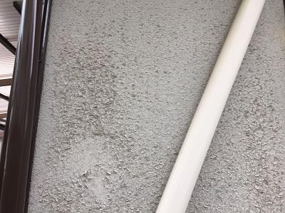 セラミック塗装のひび割れ
